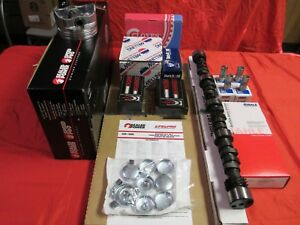 Ford 351c Cleveland Master Eng Kit Pistons Rings Cam 70 71 72 73 74 Intake Rod