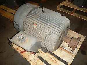 100 Hp Reliance Electric Motor 1200 Rpm 444t Frame Tefc 230 460 V 1 15 S f
