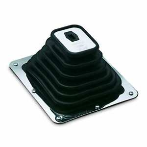 Hurst 1147494 Shifter Boot Super Boot Plate Measures 7 3 4 X 8 3 4 Inches W 6
