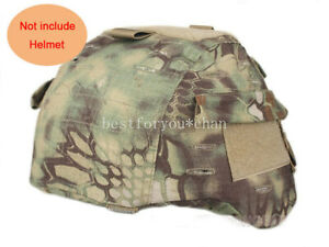 Tactical Airsoft Military MICH 2000 Ver2 Helmet Cover W Back Pouch Mandrake MR