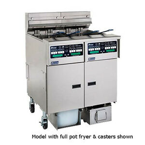 Pitco Sshlv14c 184 fd Low Oil Volume Multi battery Gas Fryer Filter 2 Fryers