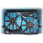 Flex a lite 295 Dual Electric Fan 13 1 2 Shrouded Puller W Variable Speed Cont