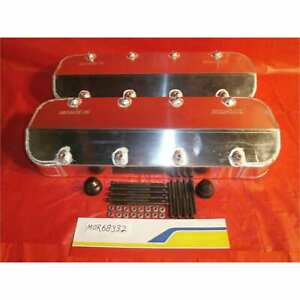 Moroso 68332 Valve Cover Sbc Race Valve Covers