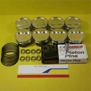 Wiseco Pt009a3 Pistons Sbc 4030 1125 927 20cc Dish 4032 Needs Rings 8 Cyl
