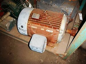 60 Hp Us Electric Motor 1800 Rpm 364t 365t Fr Tefc 575 V 1 15 Sf