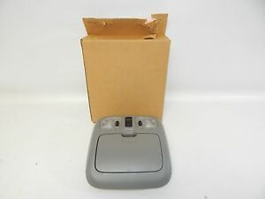 New Oem 2001 2003 Ford Escape Overhead Center Console Map Light Lamp Grey Gray