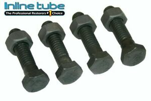 64 77 All Gm Pontiac Olds Chevy Buick A Body Tie Rod Sleeves Clamp Bolts Tr Head