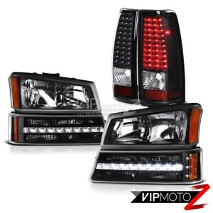 03 04 05 06 Chevy Silverado 2500hd Parking Brake Lights Light Headlamps Led Smd