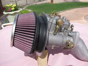 Mini Cooper Classic Weber 45 Dcoe Carb K N Filter Med Intake Sys Alloy Intake