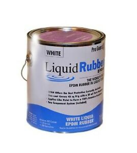 Liquid Rubber Liquid Epdm Coating 1 Gallon Black