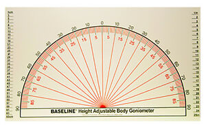 Baseline Adjustable Wall Goniometer 1 Ea