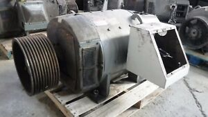 250 Hp Dc General Electric Motor 1750 Rpm 506ay Frame Dpfv 500 V