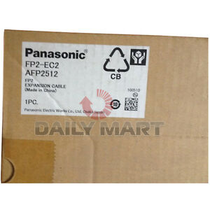 New In Box Panasonic Fp2 ec2 Programmable Logic Controller Expansion Cable Unit