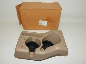 New Oem 1998 2001 Ford Ranger Front Coin Cup Hoder Tray Beige Tan Console
