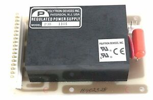 Polytron Devices Model P38 1001 Regulated Power Supply 748 7300103 Board