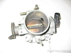 92 95 Honda Prelude Oem Throttle Body With Tps Sensor S Model M t
