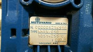 Motovario 40 1 Speed Reducer