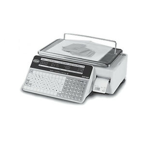 Globe Gsp30b Legal For Trade Label Printing Scale