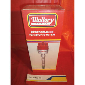 Mallory 6048201 Ignition Distributor Chev V8 Electronic Advance