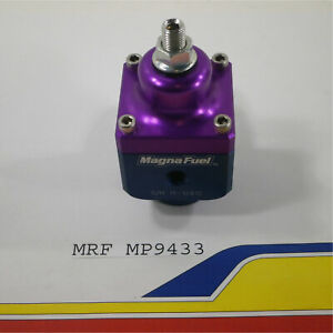 Magnafuel Mp9433 Fuel Pressure Regulator 4 Port 4 12 Psi For Carb Use 1 10 An