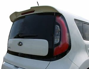 2014 2018 Unpainted Abs Rear Trunk Spoiler For A Kia Soul Factory Style Wing