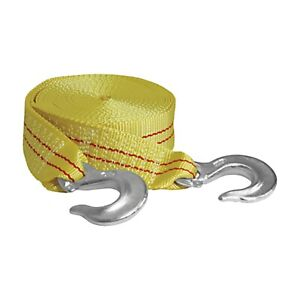 Tow Strap With Forged Hooks 2 X 25 10 000 Lb Capacity Kti73803 Brand New