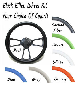 Hot Rod Street Rod Truck Choose Your Color Steering Wheel Wrap Full Kit