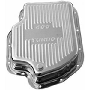 Gm Chevy Turbo 400 Chrome Automatic Transmission Deep Pan Extra Capacity Th400