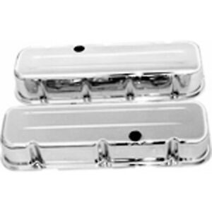 Racing Power Rpc R9235 Engine Valve Covers Chrome 1965 95 Chevy V8 396 502 Tal