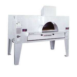 Bakers Pride Fc 516 Il Forno Classico Single Deck Wood Burning Gas Pizza Oven