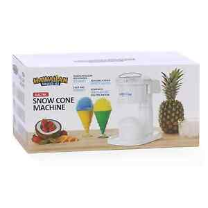 Shaved Ice Maker Machine Snow Cone Electric Stand Treat Party Home Drink Kids
