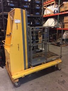 Biljax Xlt 1571dc Man Lift 21 Reach Personal Lift One Man Lift High Lift