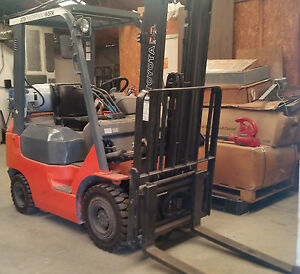 Forklift Toyota 2005 Model 7fgu15 Serial 66277