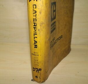Cat Caterpillar D7f Tractor Dozer Crawler Repair Shop Service Manual Engine Book
