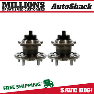 Rear Pair 2 Wheel Hub Bearing Assembly Fits 2004 2010 Toyota Sienna Hb612282pr