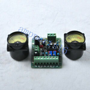 Vu Driver Board With 2pcs Vu Meter Back Light For Audio Tube Amplifier Diy Parts