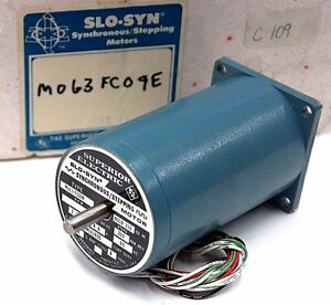 New Superior Electric M063 fc09e Slo syn Stepping Motor Bm101025 Class B