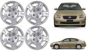 4 16 Replacement Hub Caps For 2002 2004 Nissan Altima 5 Lug New Free Shipping