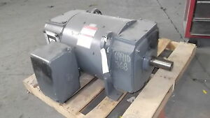 75 Hp Dc General Electric Motor 1750 Rpm 368at Frame Dpfv 500 V