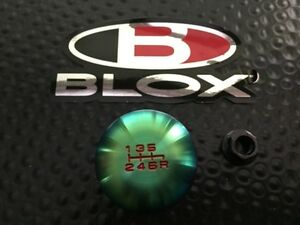 Blox Racing Original Type r Neo Finish 6spd Shift Knob 10x1 5 Acura Honda