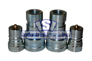 2 Pk 3 4 Iso b Hydraulic Hose Quick Disconnect Couplers