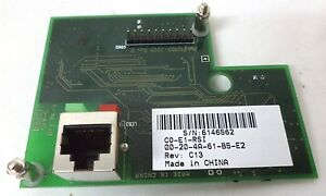 Ethernet Card For Rsi Hand Punch 3000 4000 En 200 Oem