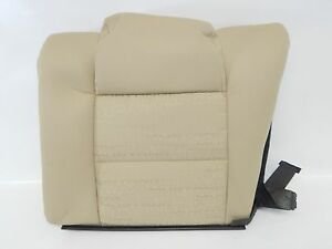 New Oem 2005 2007 Ford Mustang Rear Seat Backrest Cover Beige Cloth Tan Back
