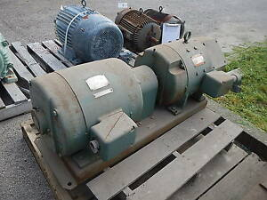 17 Kw General Electric Ac To Dc Motor Generator 125 Volts Dc 1800 Rpm 25 Hp