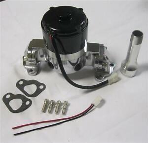 Small Block Ford Electric Water Pump High Volume Polished 289 302 Sbf