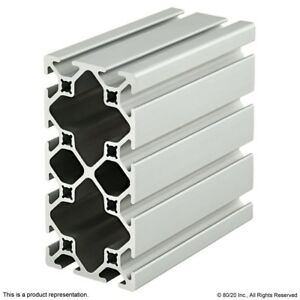 80 20 Inc 10 Series 2 X 4 Smooth Aluminum Extrusion Part 2040 s X 96 5 Long N