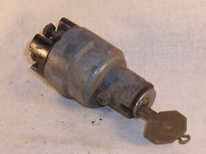 Vintage Ignition Switch Chevy Buick Olds Chrysler Cadillac Plymouth Ford