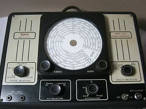 Triplett Signal Generator Vintage Test Equipment Model 3432