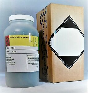 Potassium Permanganate 3 Pounds Kmno4 Free Flowing Condy s Crystals With Msds