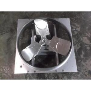 Dayton 24 Exhaust supply Fan Reversible 115 230 Volt 181574